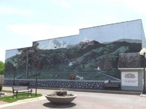Mural at Remembrance Park